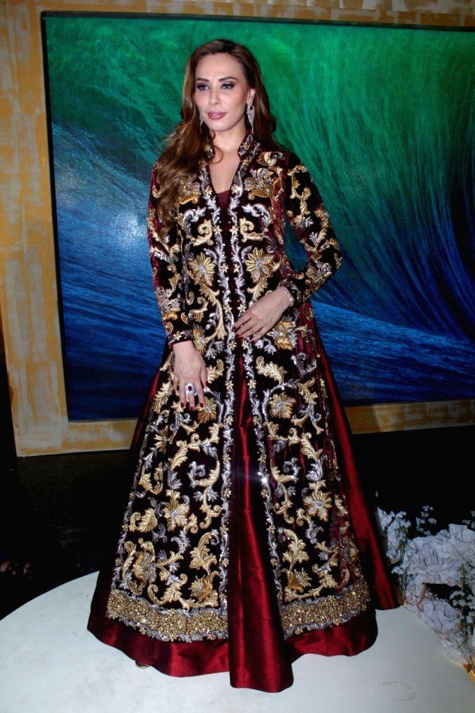 Model and Television presenter Lulia Vantur Walks Ramp For Pallavi Jaikishan At Joya Fashion & Lifestyle Exhibition in Mumbai on Sept 12, 2017.