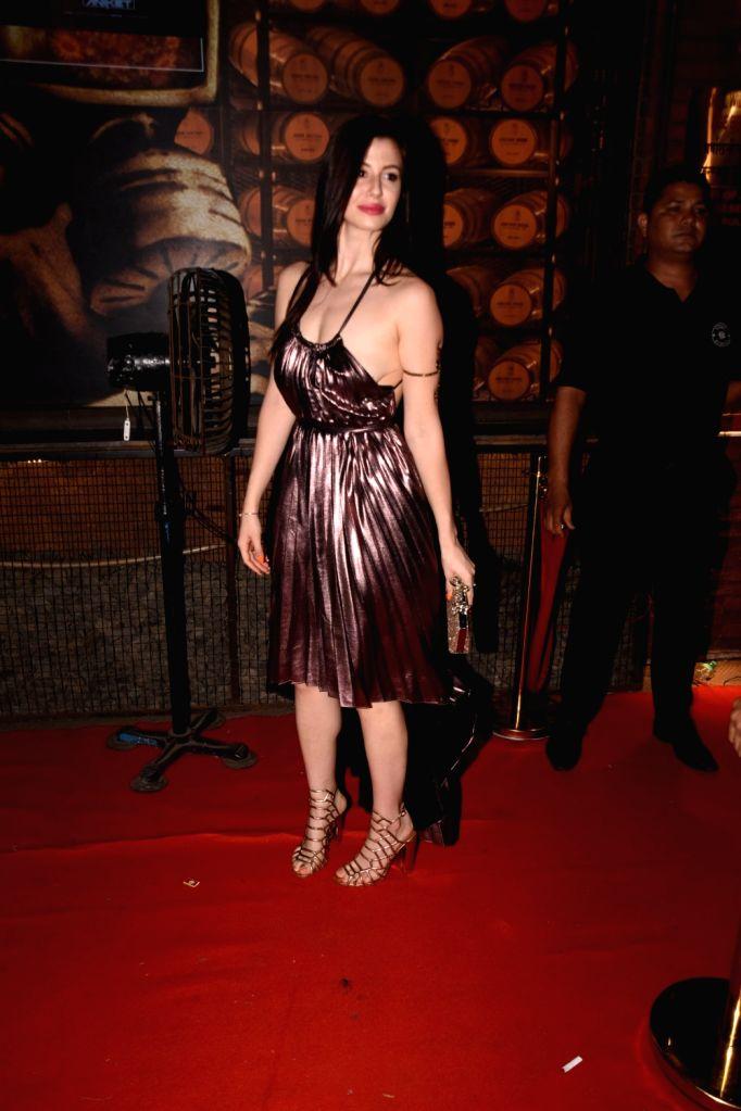 Model Giorgia Andriani during a programme in Mumbai on Sept 6, 2018. - Giorgia Andriani