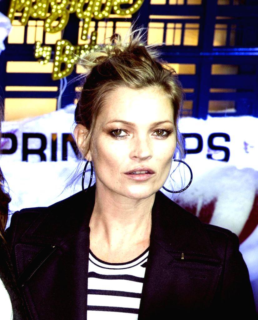 Model Kate Moss. (File Photo: IANS)