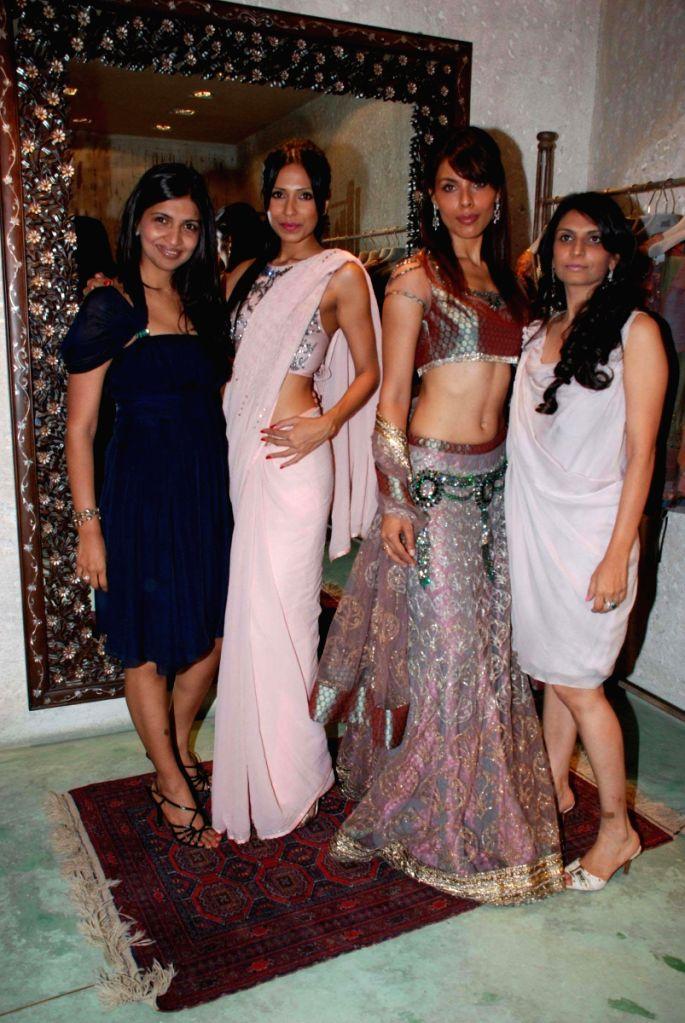 Models at Jade store launch in Mumbai.
