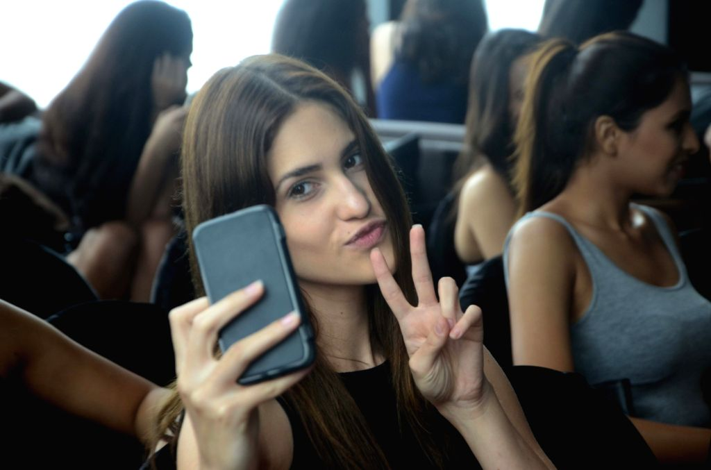 Models at the auditions for the Lakme Fashion Week in Mumbai on June 30, 2016.