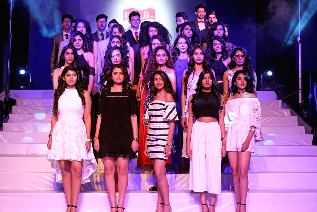 Models during a fashion show at a Bengaluru shopping mall, on June 23, 2017.