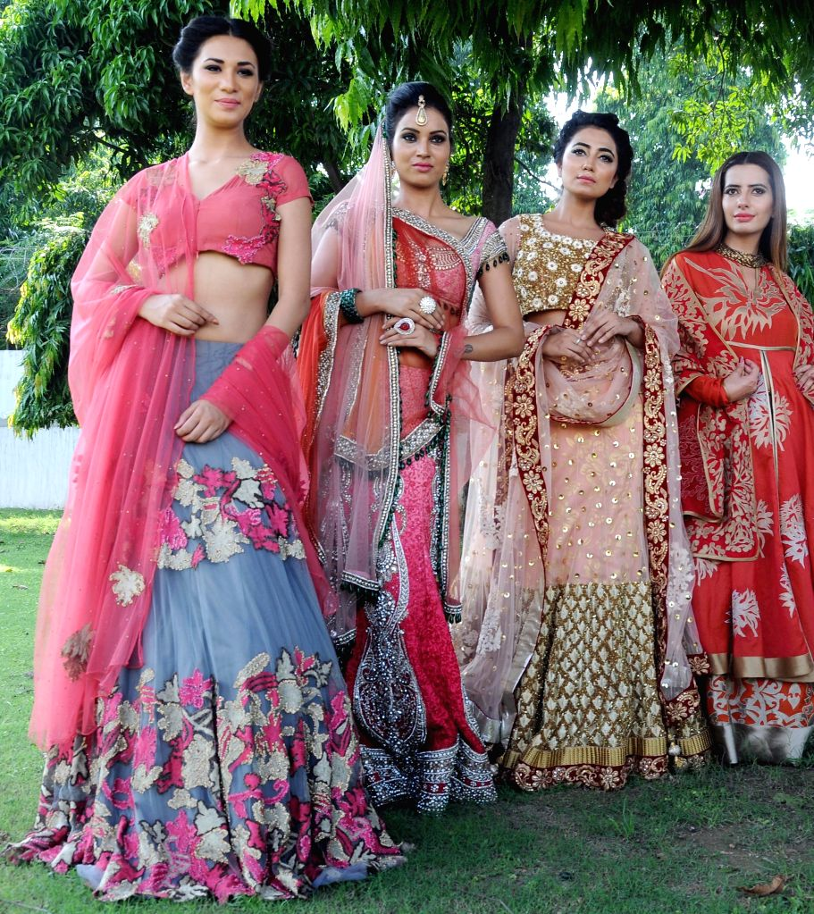 Models during `Shaan-e-Pakistan`- a programme organised at the Pakistan High Commission in New Delhi, on Aug 18, 2015.
