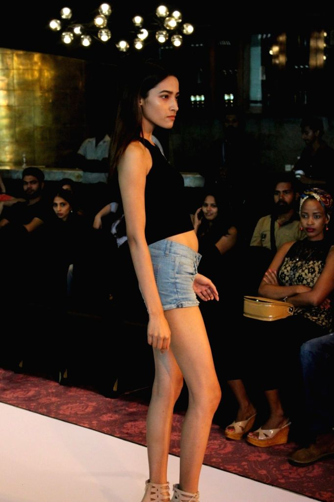 Models participate in Lakme Fashion Week model audition in Mumbai, on June 13, 2017.