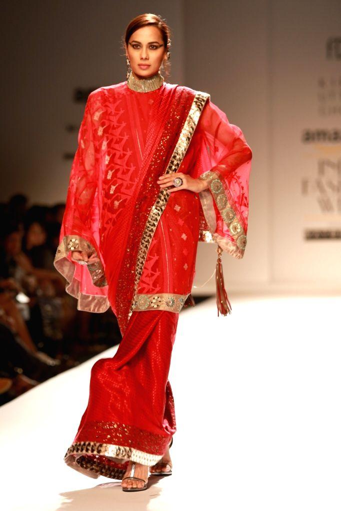 Amazon India Fashion Week 2016 Kiran Uttam Ghosh