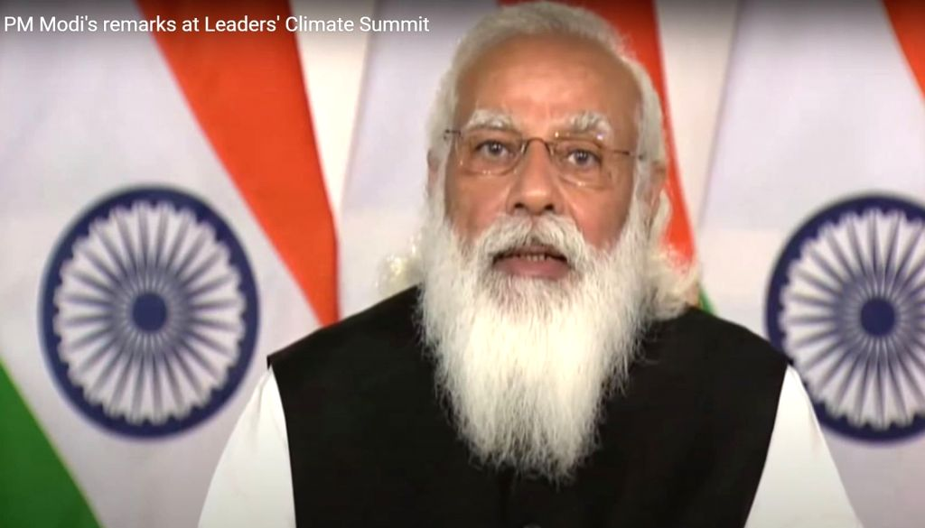 Modi announces US-India partnership to fight climate change