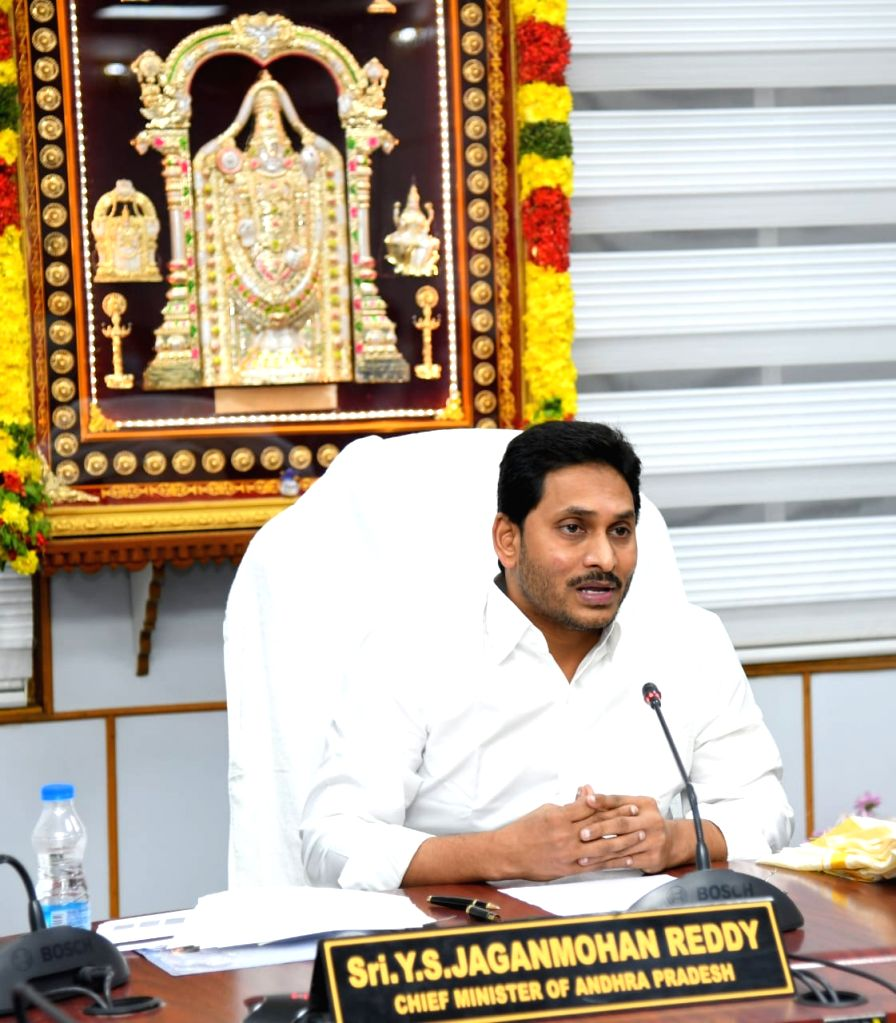 Modi elated to see Lord Venkateshwara as AP CM logs in from Tirupati.