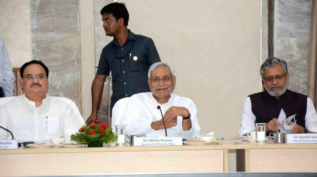 Modi, Nadda wish Nitish, stress on 'NDA family'