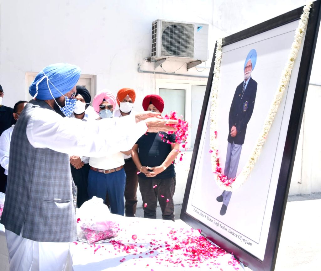 Mohali stadium named after hockey icon Balbir Singh Senior. - Balbir Singh Senior