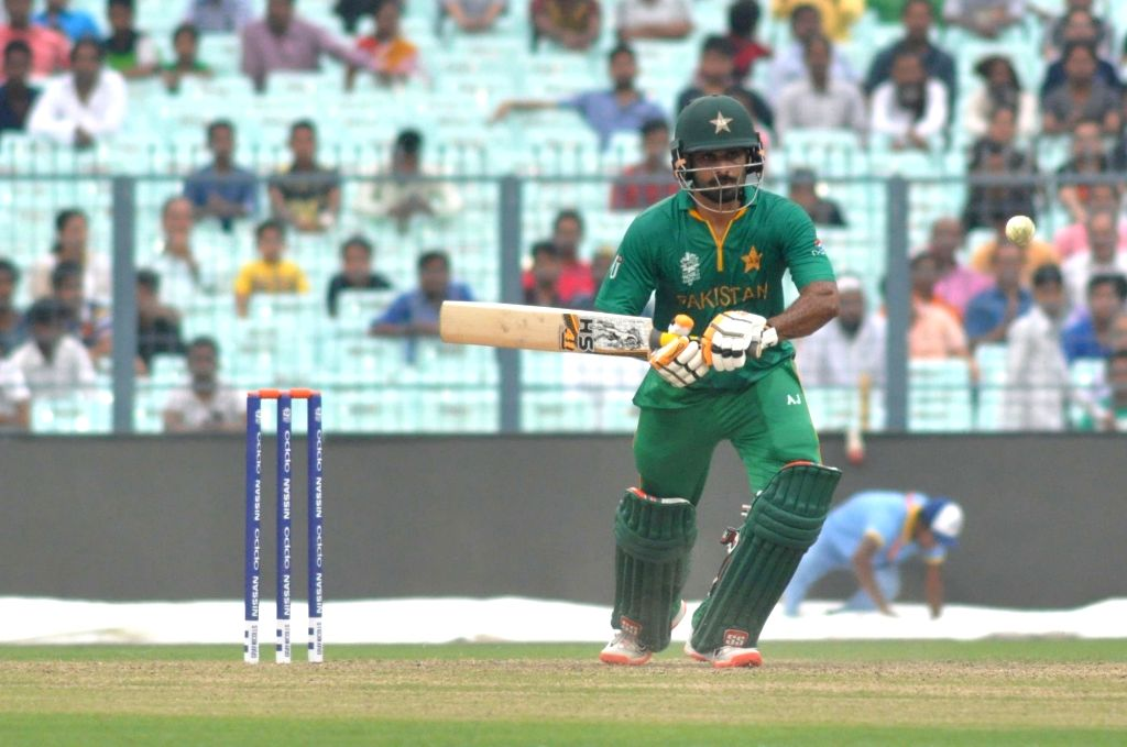 Mohammad Hafeez. (Photo: Kuntal Chakrabarty/IANS)