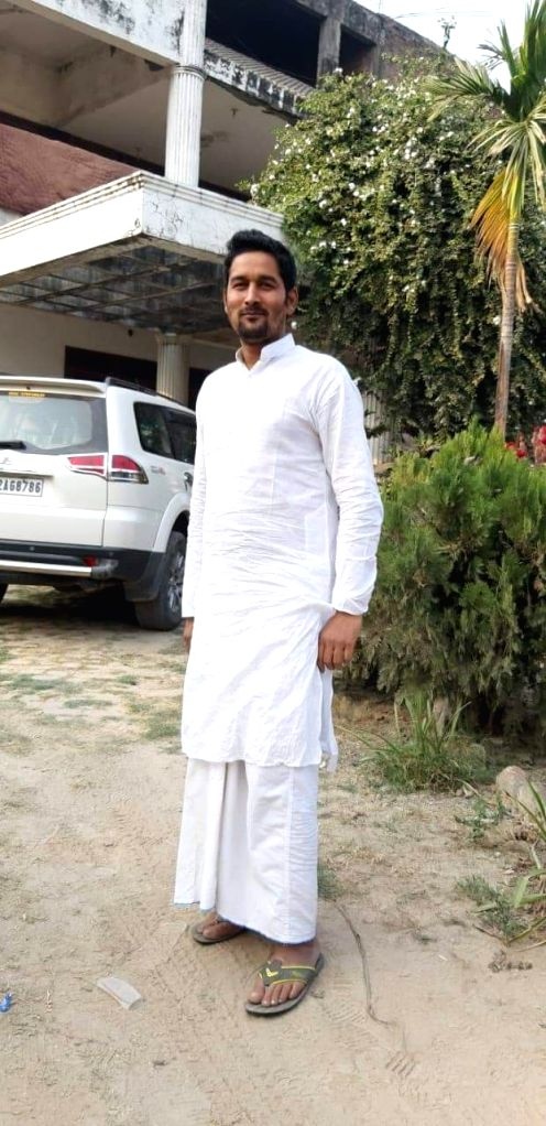 Mohammad Yusuf, nephew of Jailed former Rashtriya Janata Dal MP Mohammad Shahabuddin who was shot dead by unidentified assailants at Pratappur village, in Bihar's Siwan district, on Feb 2, ...