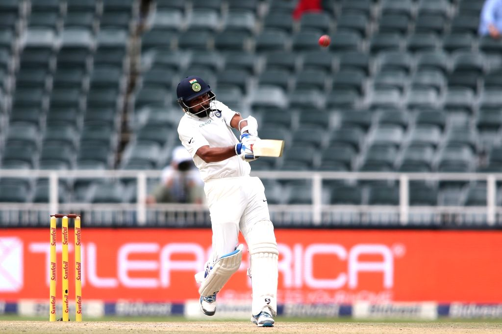Mohammed Shami of India in action during Day 3 of the third Test match between South Africa and India at the Wanderers Stadium in Johannesburg, South Africa on Jan 26, 2018.