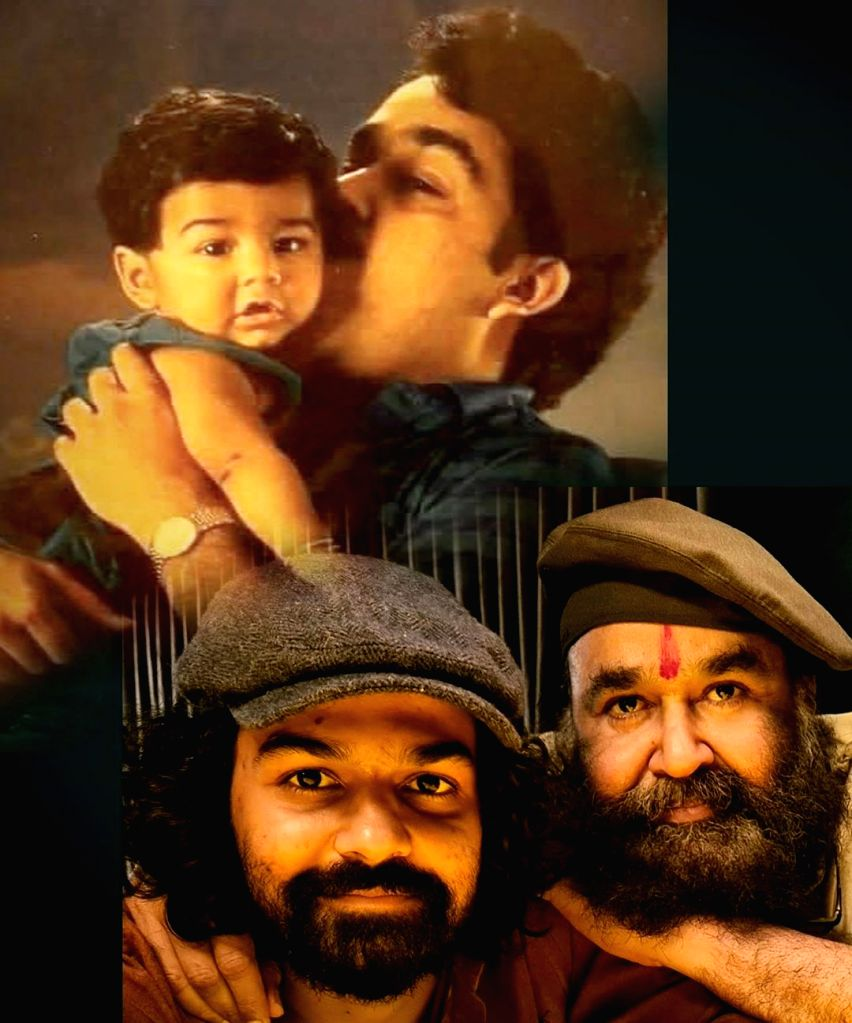 Mohanlal on son Pranav's b'day: My little man is not so little any more.