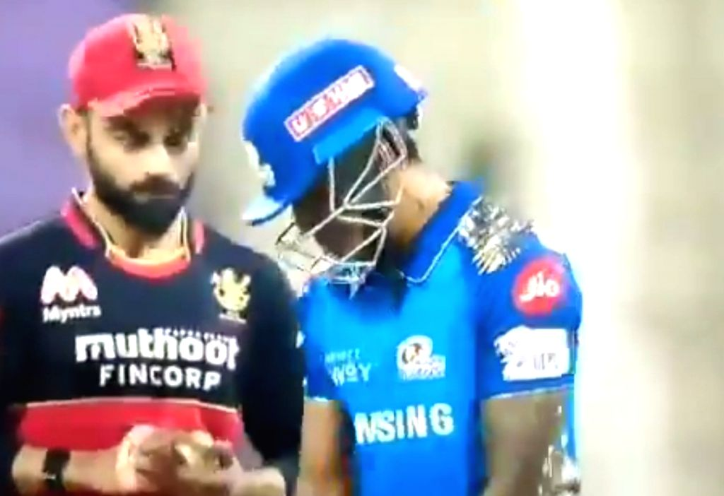 Moment of the match': Suryakumar's stare at Virat lauded on social media.