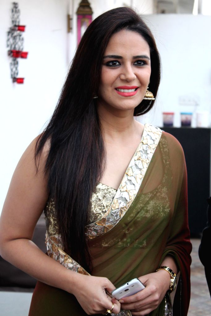 Mona Singh, at a press meet for upcoming film ''ZED PLUS'' in New Delhi on November 21,2014 - Singh