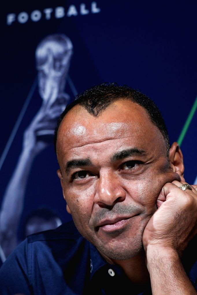 MONACO, Feb. 18, 2019 - Laureus Academy member, legendary Brazil football player Cafu receives an interview in Monaco, Feb. 17, 2019, one day ahead of 2019 Laureus World Sports Awards ceremony.