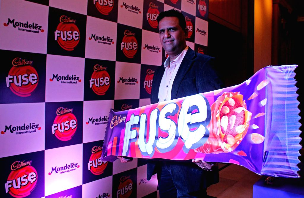 Mondelez India director and marketing (chocolates) Prashant Peres during the launch of Cadbury Fuse chocolate in Bengaluru on Sept 28, 2016.