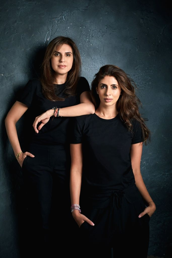 Monisha Jaising & Shweta Bachchan Nanda. - Shweta Bachchan Nanda