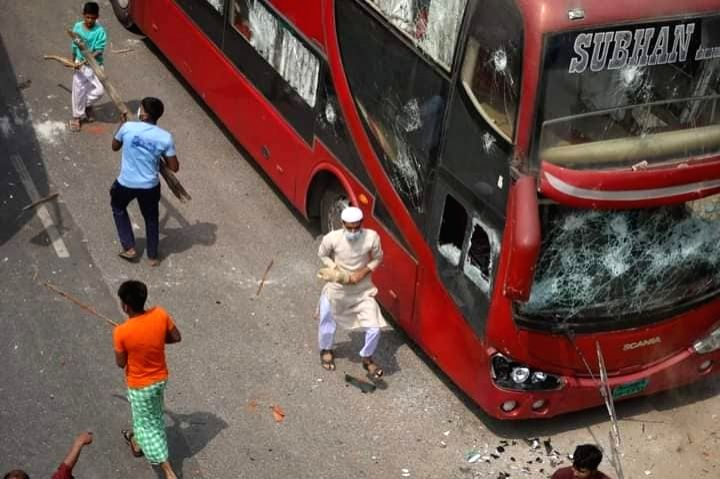 More than 500injured Countrywide in Bangladesh-500 militants accused-No arrest