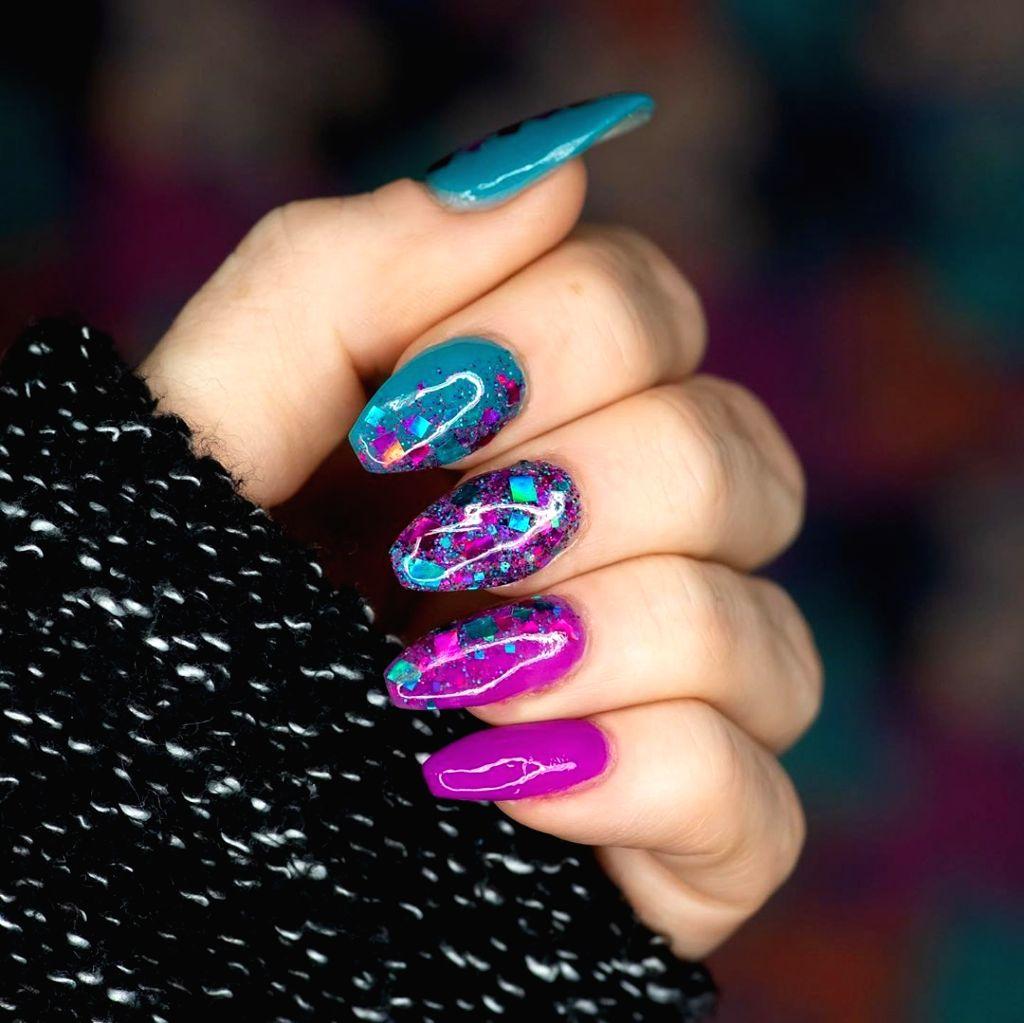 More than just a manicure, nail art on budget this season.
