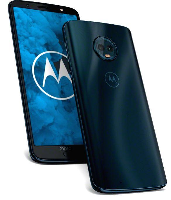 Moto G6 smartphone.