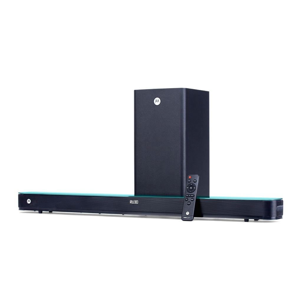 Motorola expands AmphisoundX range of soundbars, home theatres.
