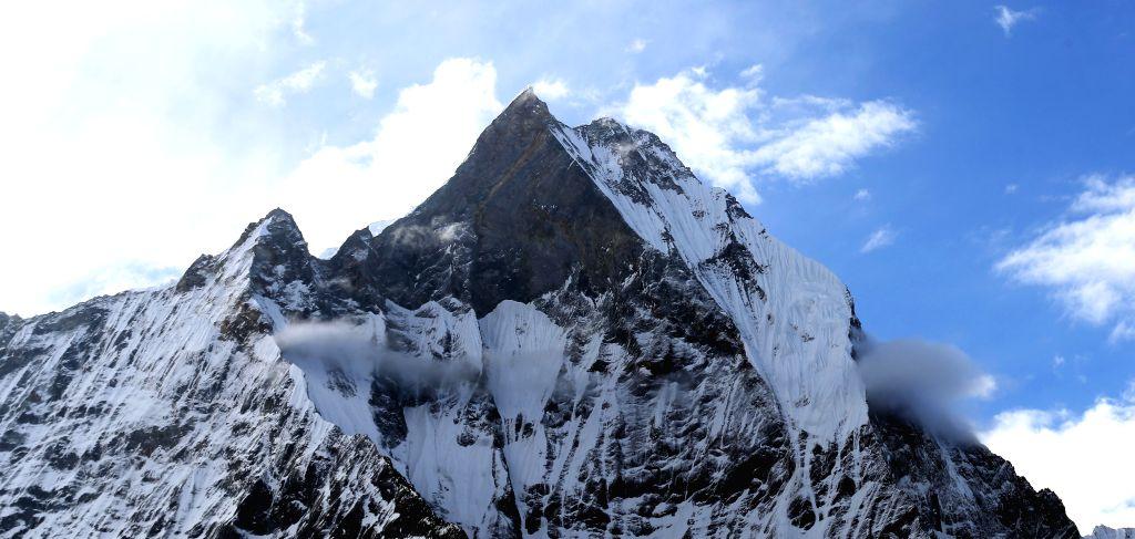 Mount Annapurna. (Xinhua/Sunil Sharma/IANS) - Sunil Sharma