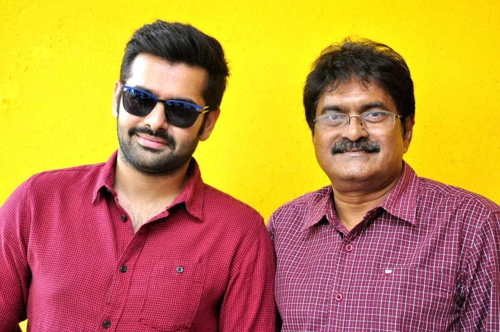 Movie Nenu Sailaja first look launch and press meet