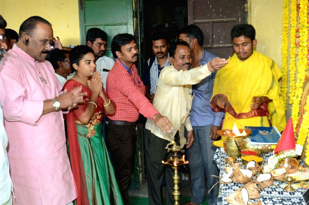 Movie opening Stills from Telugu film `Chakali Ilamma`