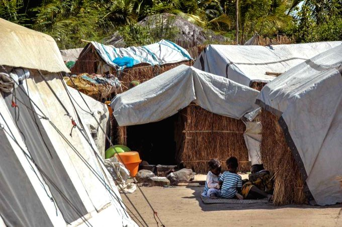 Mozambique clashes continue for 7th day.(pic credit: twitter.com/unocha)