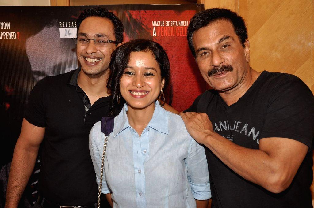 Mritunjay Devvrat, Tilotama Shome, Pawan Malhotra during their media interaction about their upcoming film Children of War in Mumbai on May 12, 2014. - Pawan Malhotra