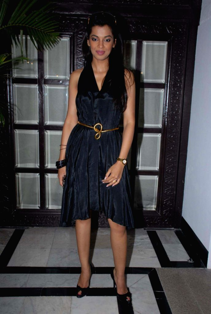 Mugdha Godse at  DW TV Press Meet. - Mugdha Godse
