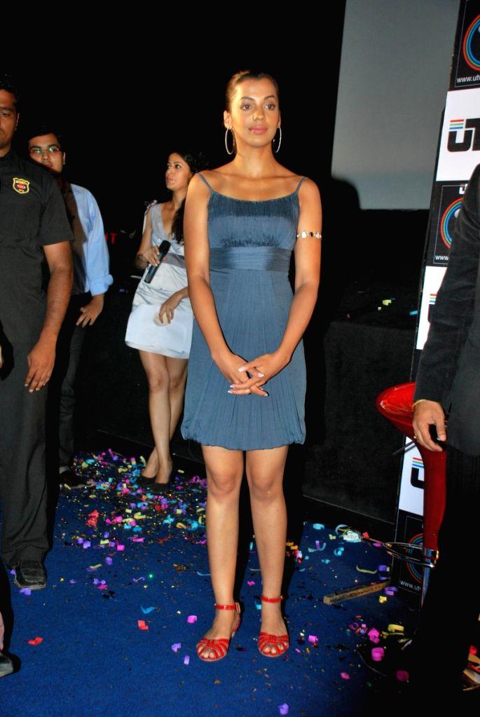 Mugdha Godse at UTVPLay.com - Film Son Mobile launch.