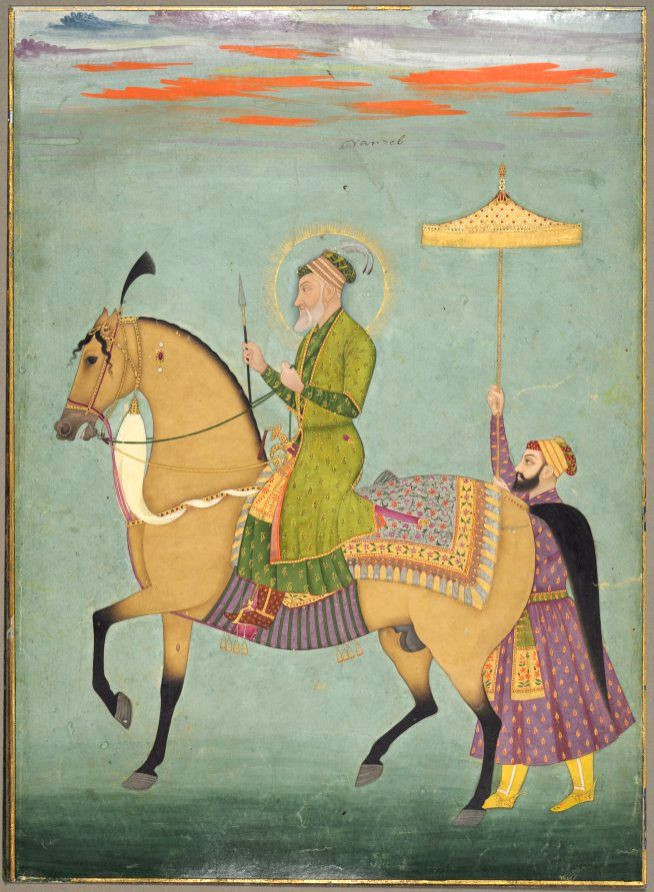 Mughal Emperor Aurangzeb in his late life