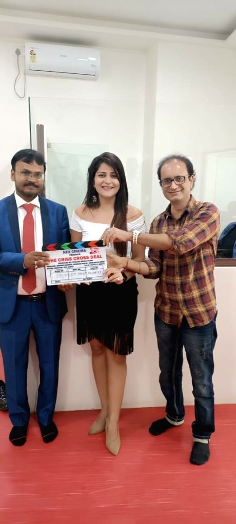 Muhurat of mystery, thriller web series 'The Criss Cross Deal' concluded.