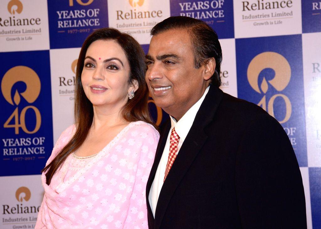Mukesh Ambani and Nita Ambani  (Photo: IANS/RIL) - Mukesh Ambani and Nita Ambani