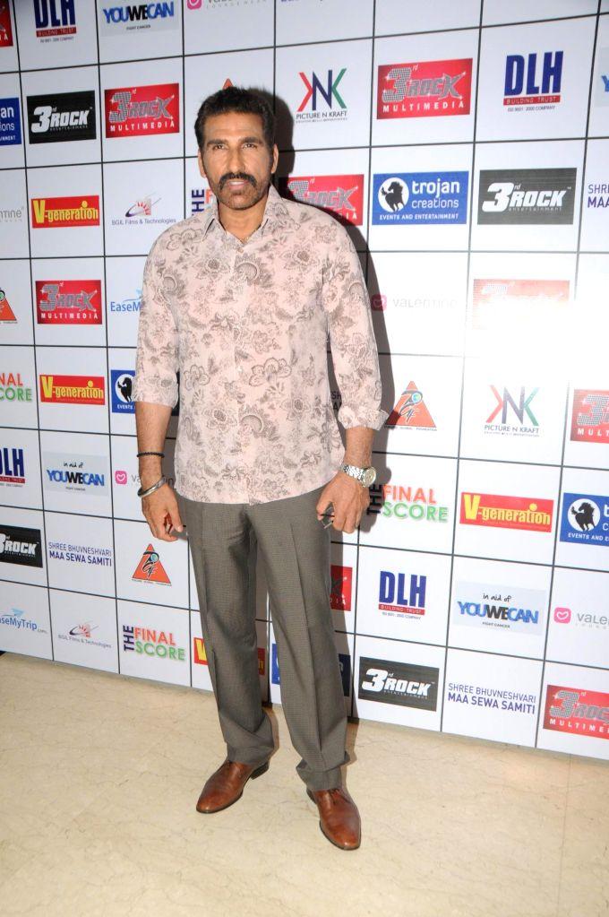 Mukesh Rishi during the Satinder Sartaj's `Mehefil-e-Sartaaj` live concert at Hotel Novotel in Juhu, Mumbai on Saturday, June 21, 2014.