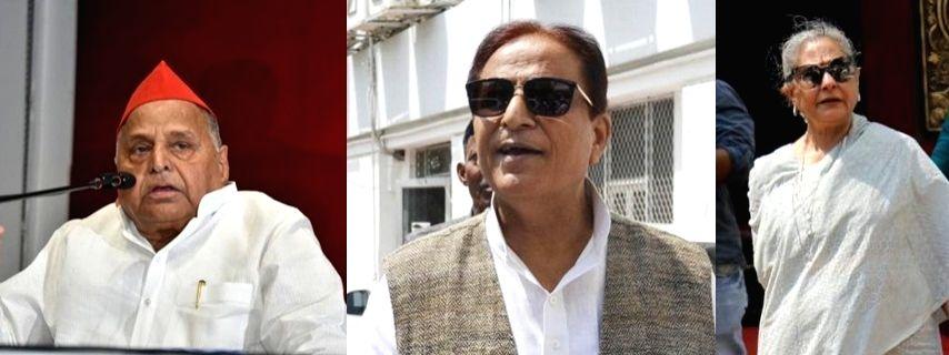 Mulayam, Azam in SP star campaigner list, Jaya missing.