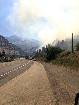 Multiple wildfires in Utah amid extreme drought  (pic credit: https://twitter.com/UtahWildfire)