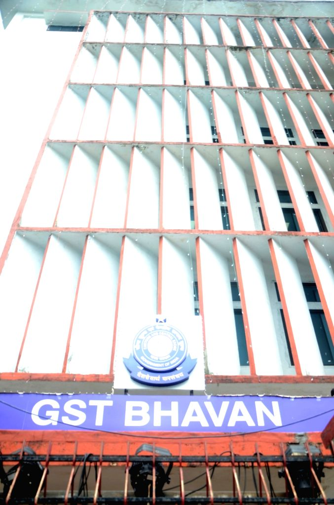 Mumbai: A view of Old Central Excise Building now renamed to GST Bhavan at Churchgate in Mumbai on July 1, 2017. At the stroke of the midnight hour, India launched its ambitious pan-India indirect tax regime, the Goods and Services Tax (GST) to bind