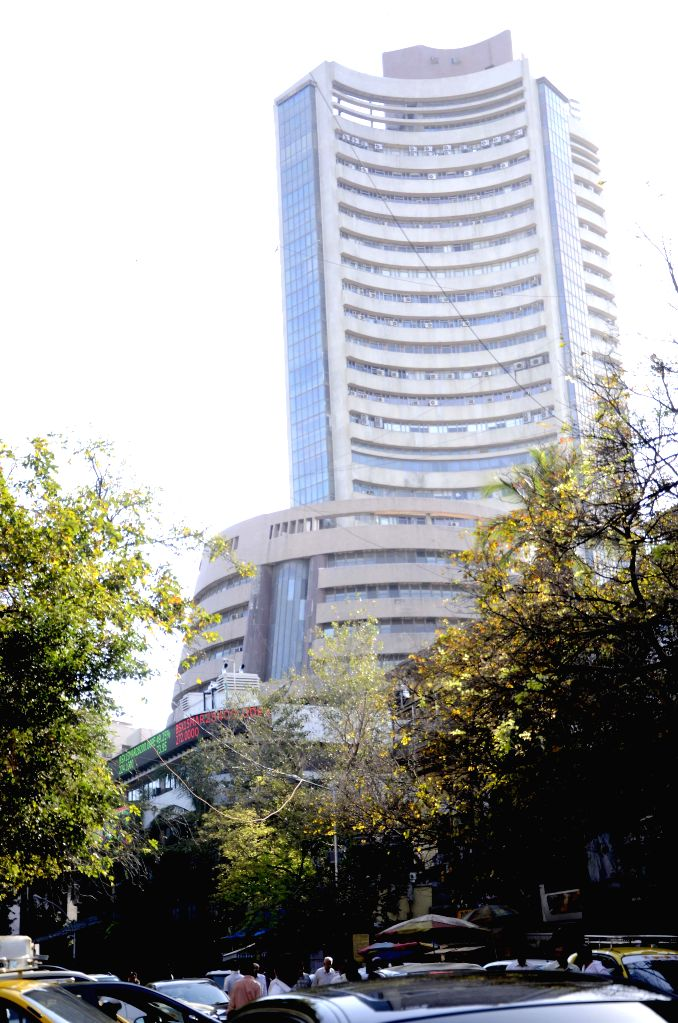 A view of the Bombay Stock Exchange.