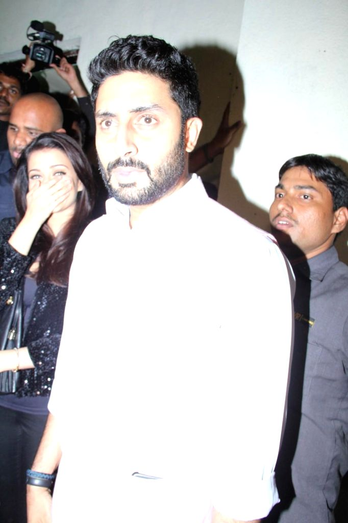 Actor Abhishek Bachchan during Mumbai International Motor Show 2015 and promotion of film Shamitabh in Mumbai on 5th February 2015. - Abhishek Bachchan