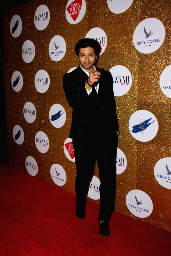 Actor Ali Fazal during the Red Carpet For Harper's Bazaar Bride 1st Anniversary Party in Mumbai on 12th February 2015. - Ali Fazal