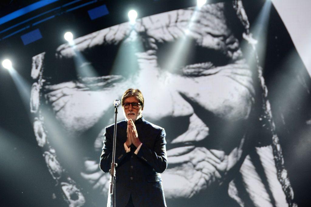 Mumbai: Actor Amitabh Bachchan at Umang Awards 2019 in Mumbai on Jan. 27, 2019 (Photo: IANS) - Amitabh Bachchan