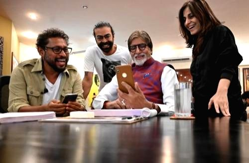 "Mumbai: Actor Amitabh Bachchan,Ayushmann Khurrana will come together on the big screen for the first time for filmmaker Shoojit Sircar's upcoming film ""Gulabo Sitabo (Photo: IANS) - Amitabh Bachchan"