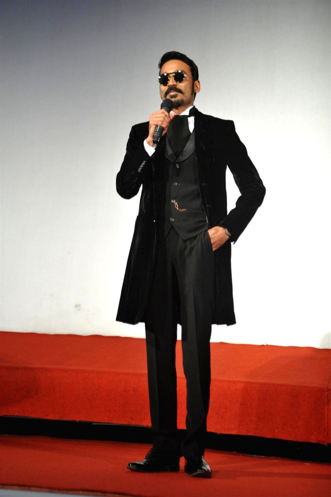 Actor Amitabh Bachchan during the trailer launch of upcoming film SHAMITABH in Mumbai on Jan 6, 2015. - Amitabh Bachchan