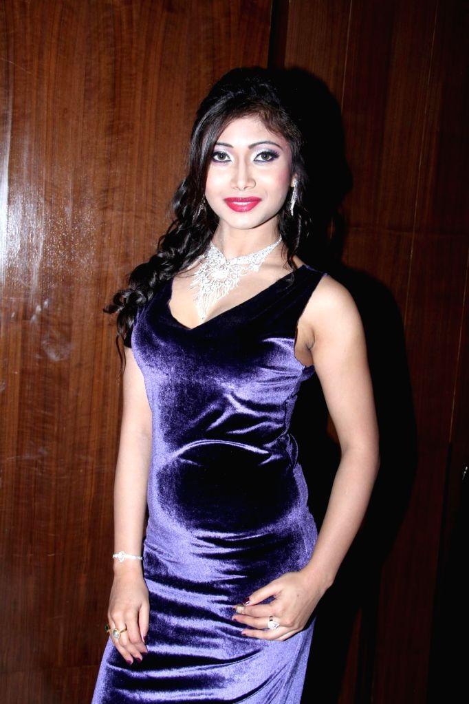 Actor Amrita Das Gupta during the music launch of film Three Atrangi Jai-Veeru-Gabbar in Mumbai on March 20, 2015. - Amrita Das Gupta