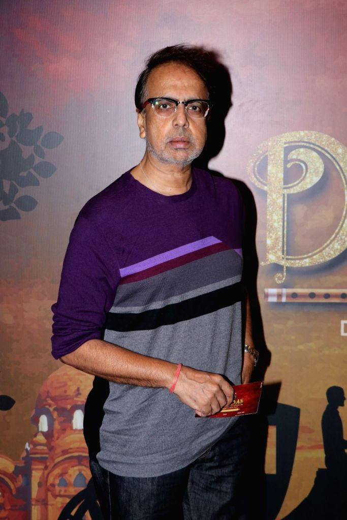 "Mumbai: Actor Anant Mahadevan at the premier of the play ""Devdas"" at the Jamshed Bhabha Theatre in Mumbai on Nov 17, 2018. (Photo: IANS) - Anant Mahadevan"