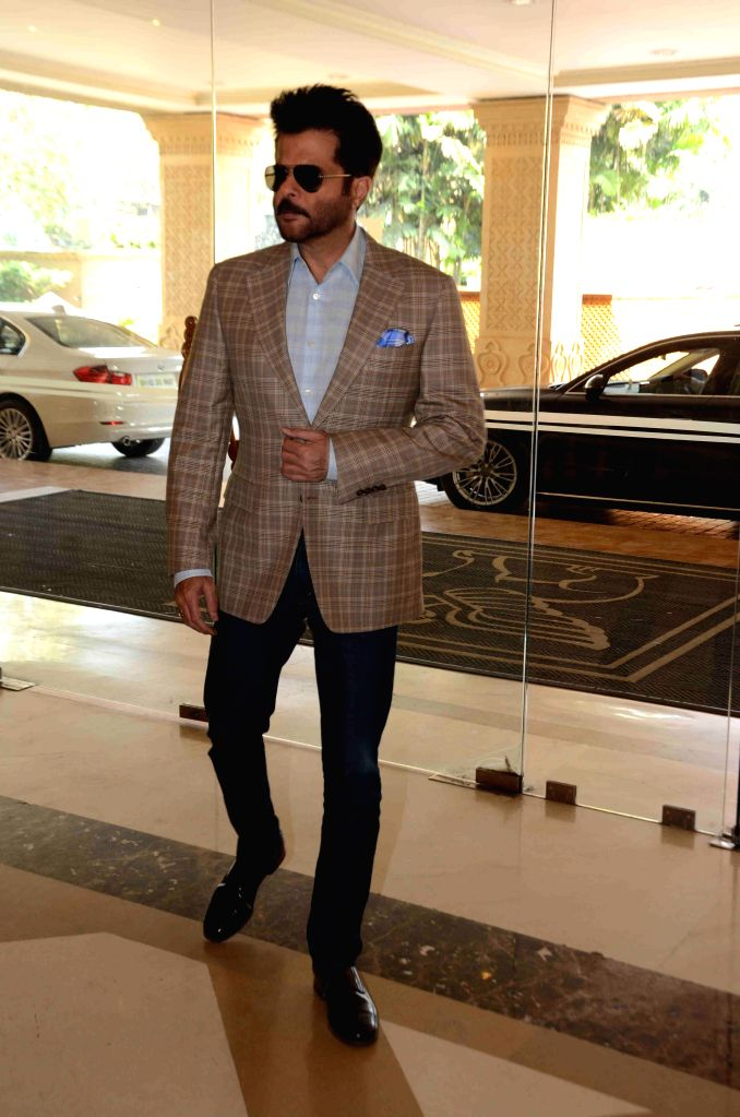 Actor Anil Kapoor during the 16th IIFA Voting Weekend, in Mumbai on March 13, 2015. - Anil Kapoor