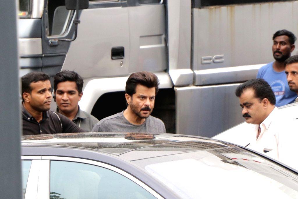 "Mumbai: Actor Anil Kapoor seen on the sets of ""Total Dhamaal"" in Mumbai on June 21, 2018. (Photo: IANS) - Anil Kapoor"